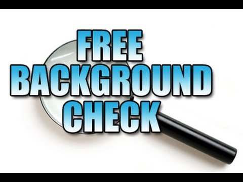 Stay Safe from Criminals with Free Background Checks