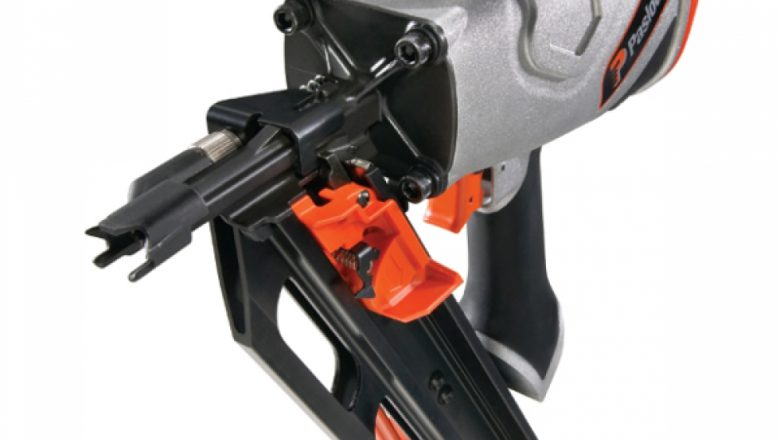 How does a roofing nailer work?
